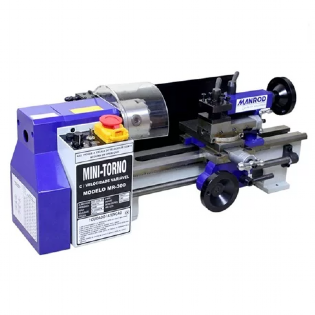 Torno Mini Analógico 250W MR-300 220V Manrod